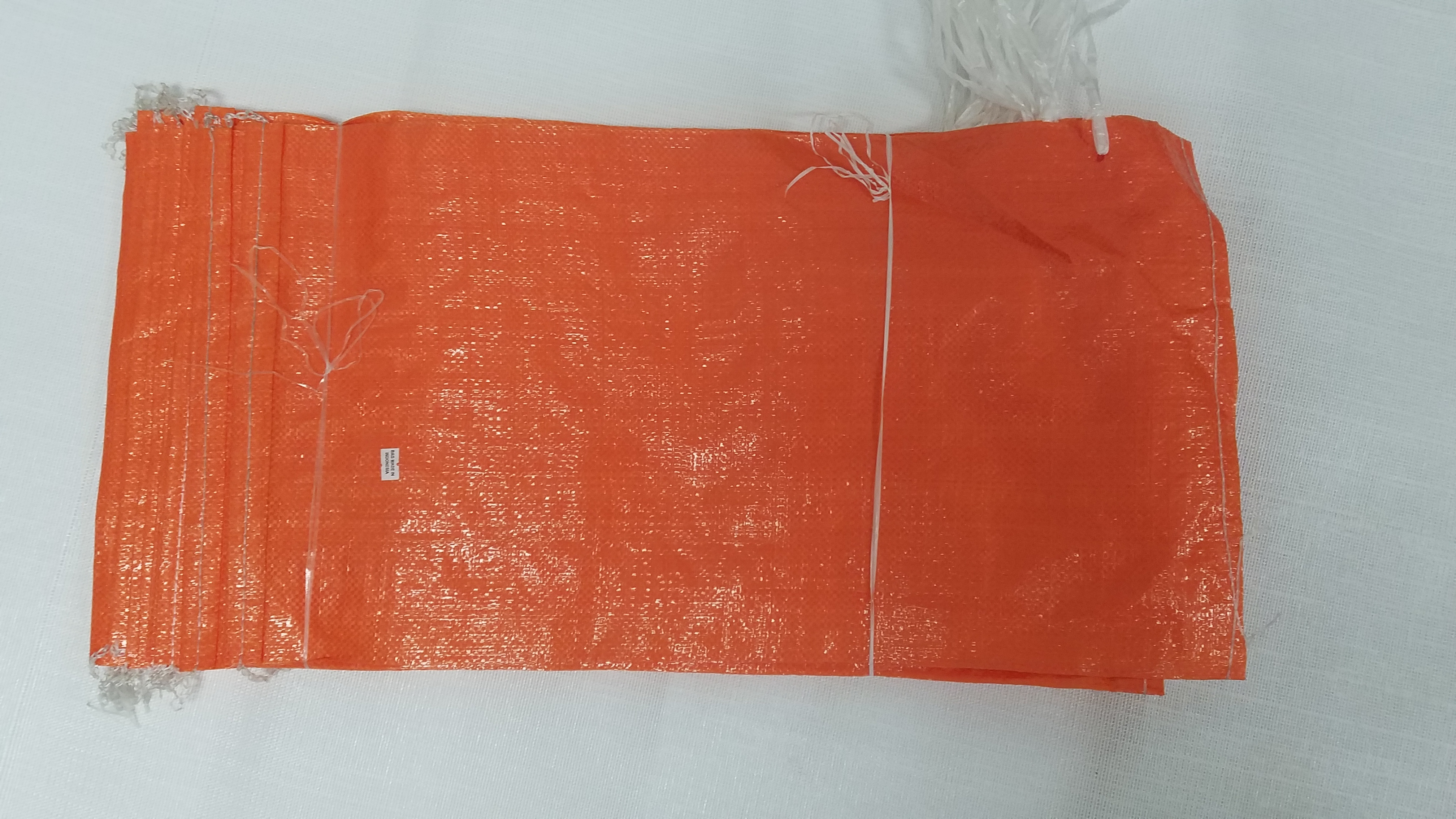 100 Orange Sand Bags Made In Indonesia
